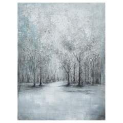 Winter forest - Bilde Multi 90x3,8x120cm Canvas