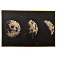 Moonphase - Bilde Multi 120x80cm Canvas
