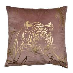 Tiger - Pute Rosa 45x45cm Polyester